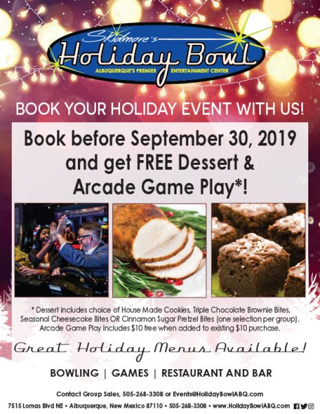 Book Your Holiday Party Early