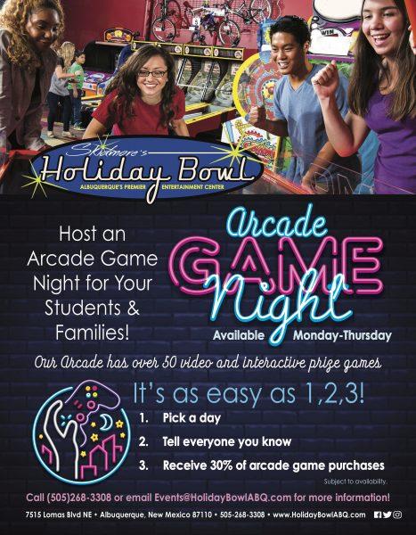 Host Arcade Fundraisers